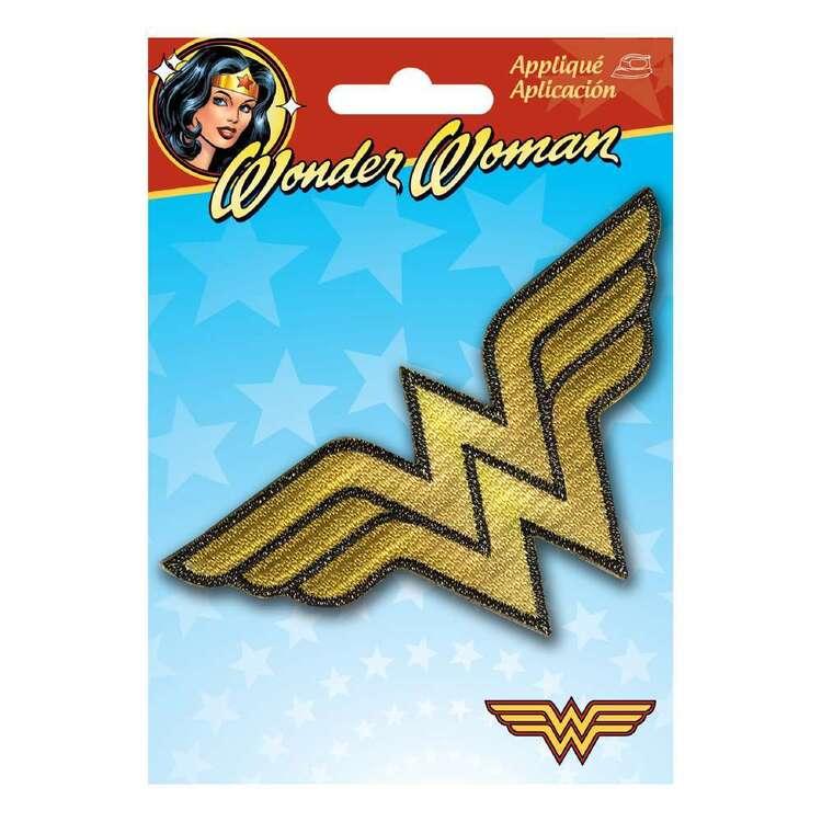 DC Comics Applique Small Wonder Woman Logo Motif