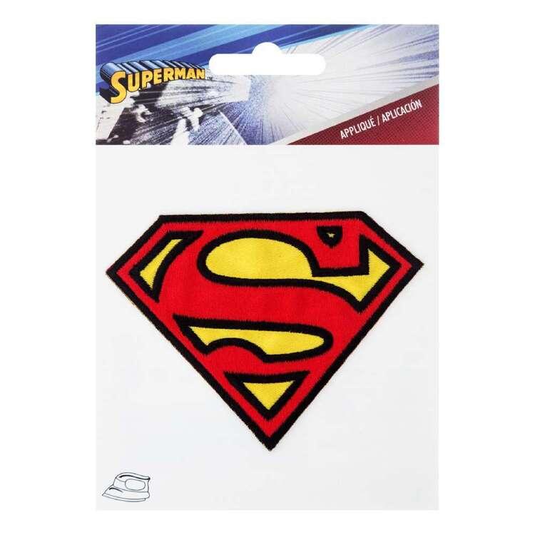DC Comics Applique Small Superman Logo Motif