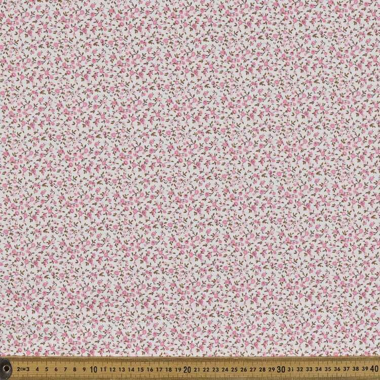 Country Garden TC Ditzy Printed 112 cm Polycotton Fabric