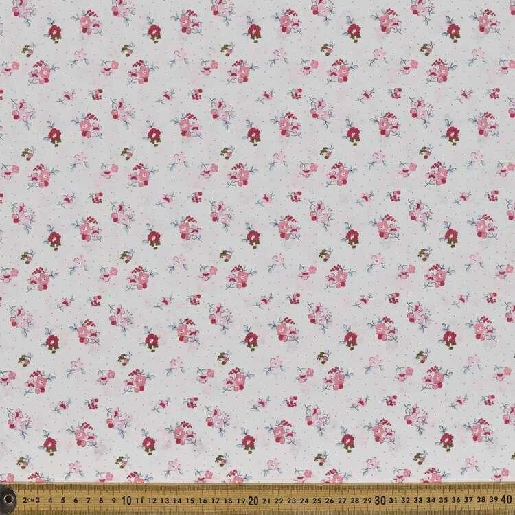 Country Garden TC Spot The Posy Printed 112 cm Polycotton Fabric