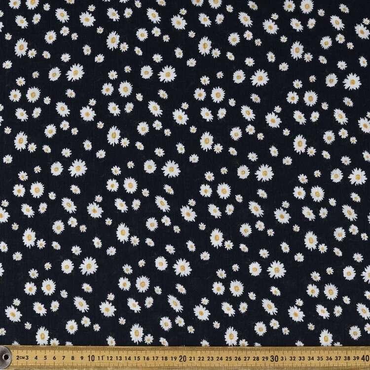 Happy Daisy Printed 138 cm Double Muslin Fabric