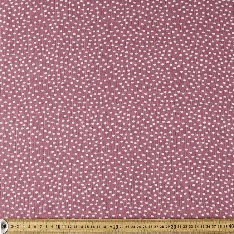 Hail Spot Printed 138 cm Double Muslin Fabric