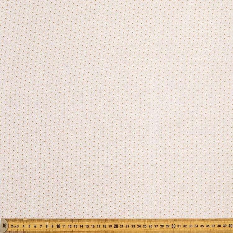 Geo Printed 138 cm Double Muslin Fabric