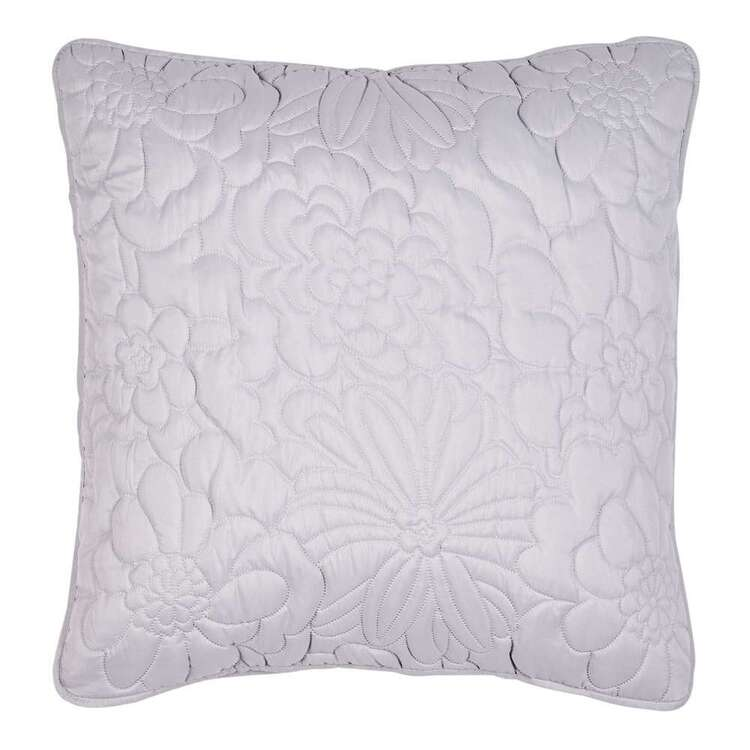KOO Joanie Floral Quilted European Pillowcase