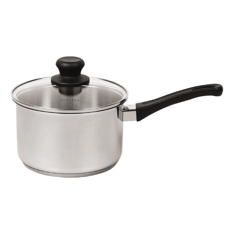 Scanpan 2.5L Stainless Steel Saucepan