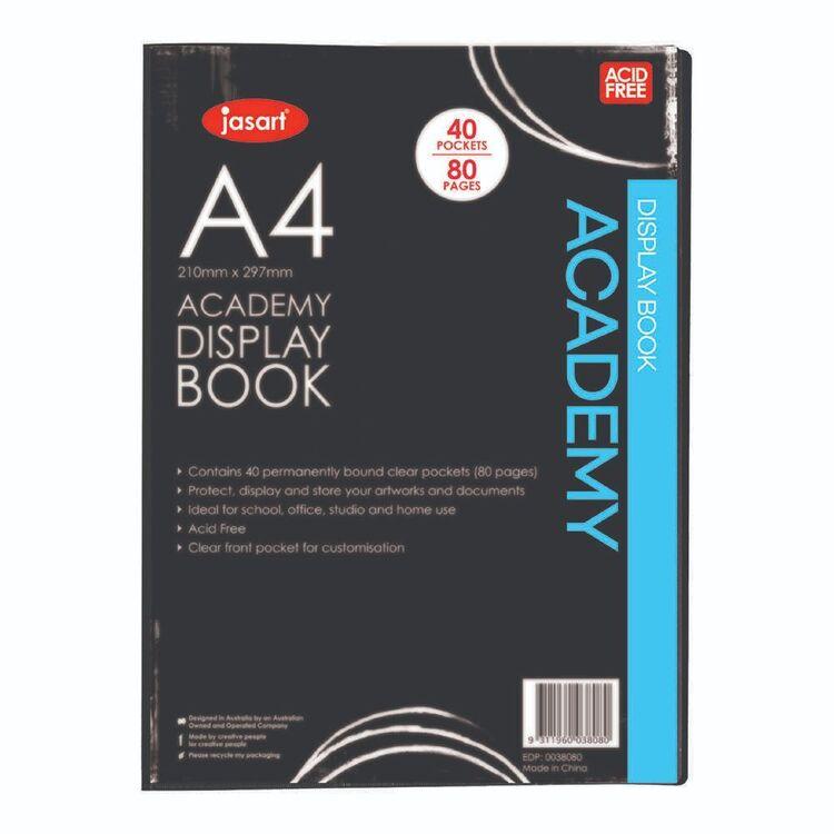 Jasart Academy Display Book A4