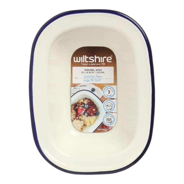 Wiltshire Enamel Oblong Pie Dish