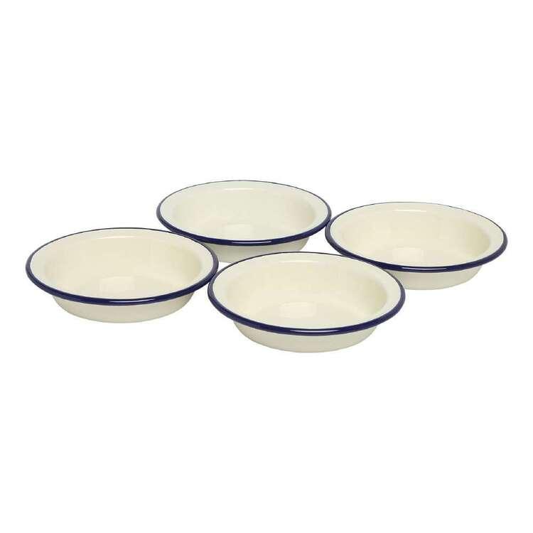 Wiltshire Enamel Set Of 4 Pie Dishes