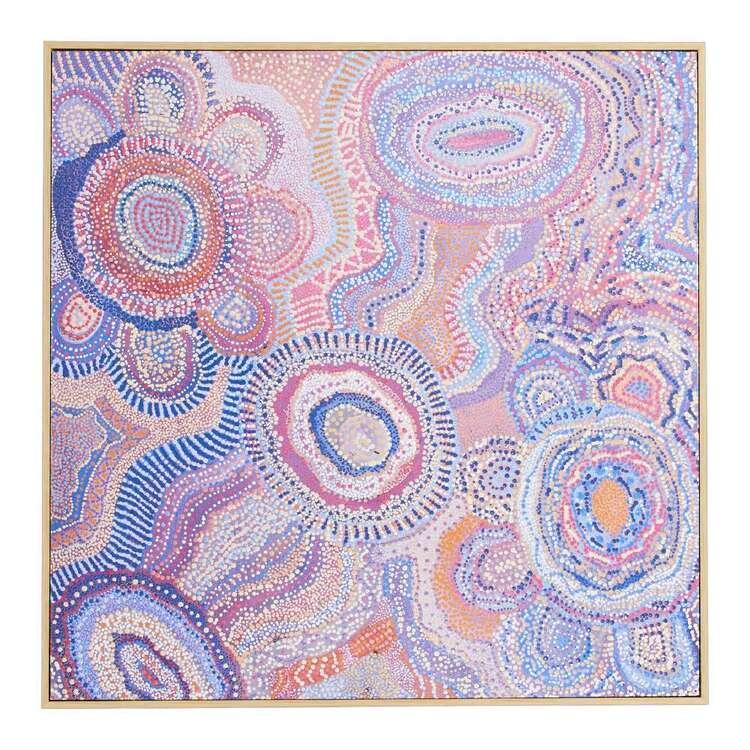 Warlu Water Dreaming Framed Print