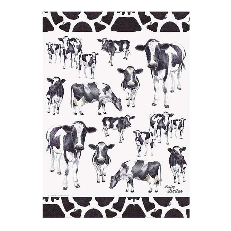 Ashdene Dairy Belles Kitchen Towel Multicoloured