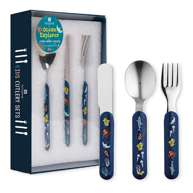 Ashdene Ocean Explorer 3 Piece Cutlery Set