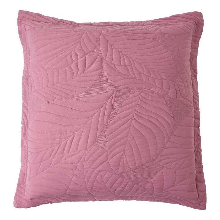KOO Byron Leaf Quilted European Pillowcase