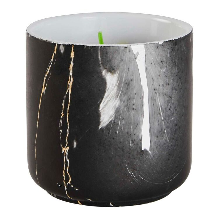Citronella Candle In Marble Jar