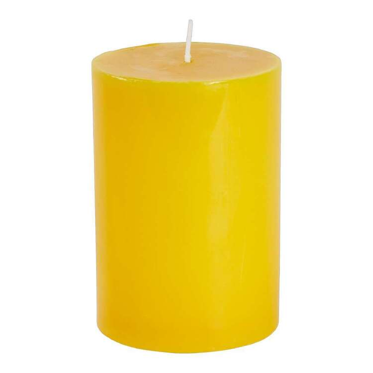 Citronella Orange Scented Candle