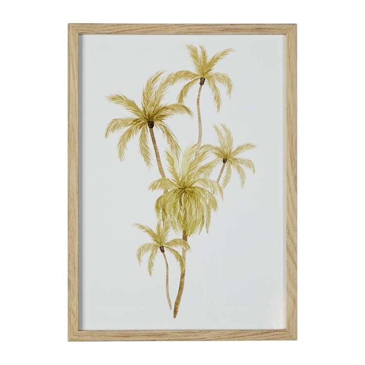 Cooper & Co Palm Framed Print