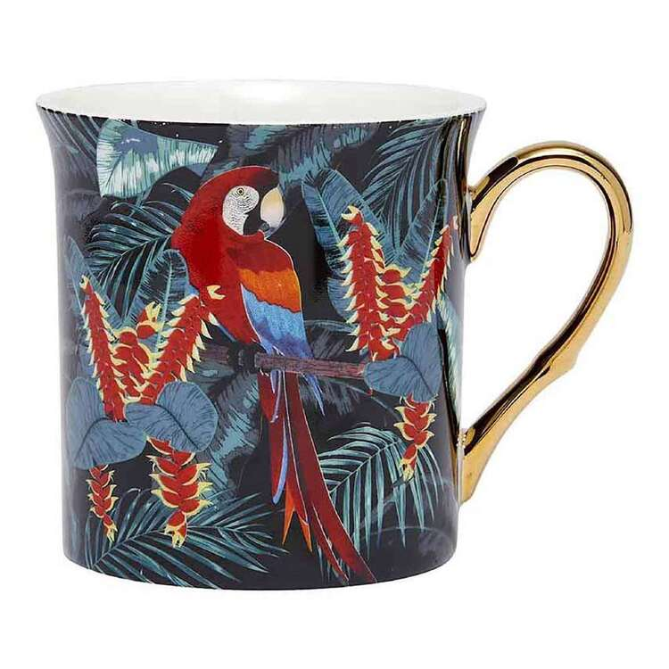 Ashdene In The Jungle Macaw Tall Flare Mug
