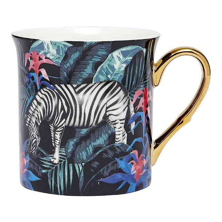 Ashdene In The Jungle Zebra Tall Flare Mug