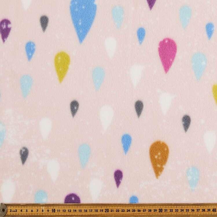 Balloons Printed 148 cm Peak Polar Fleece Fabric