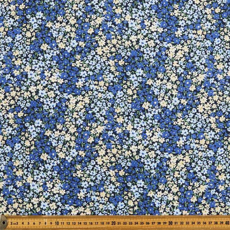 Blufields Printed 135 cm Rayon Fabric