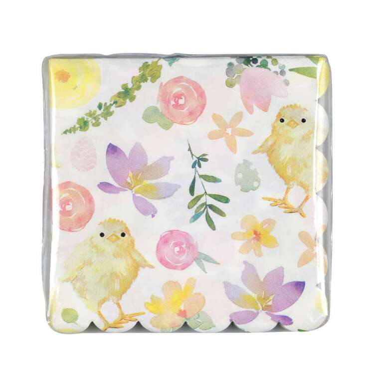 Easter Chick Paper Napkins 16 Pack