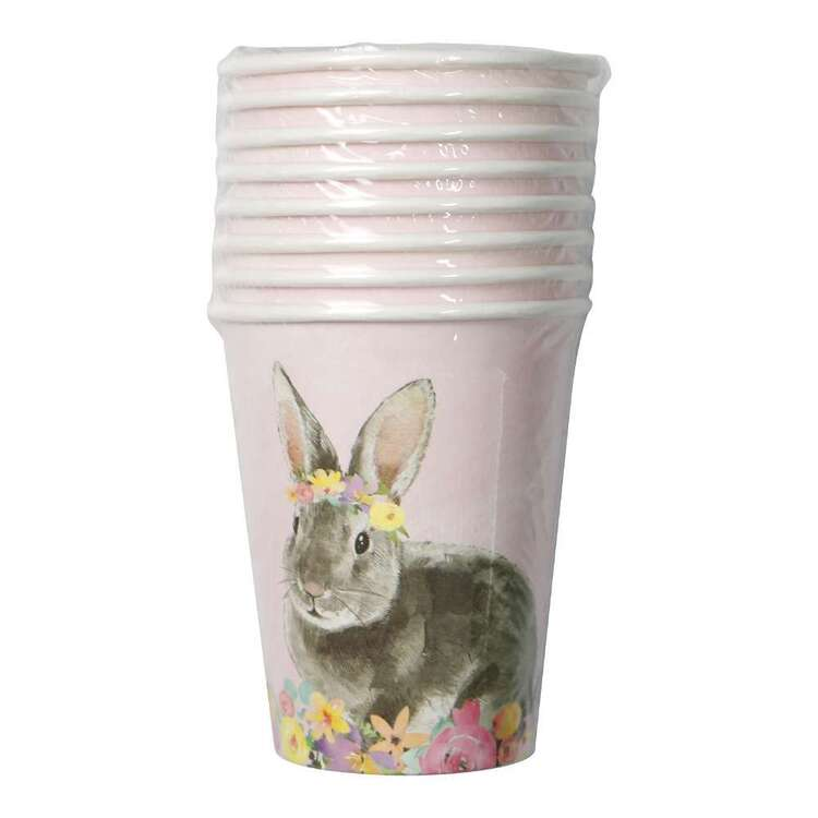 Easter Bunny Paper Cups 8 Pack