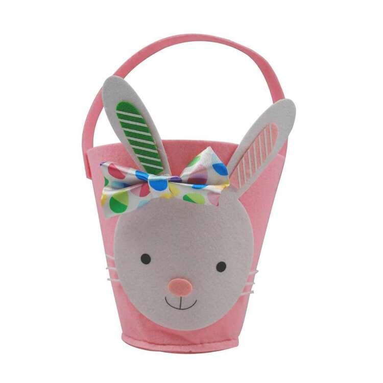 Easter Bunny Felt Bucket # 1