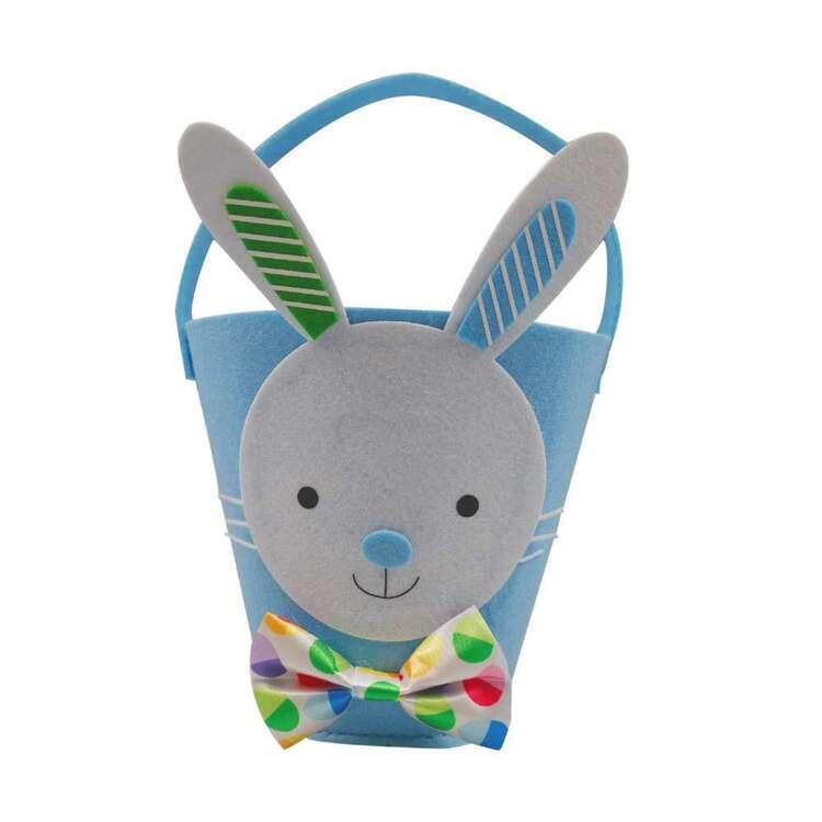 Easter Bunny Felt Bucket # 2