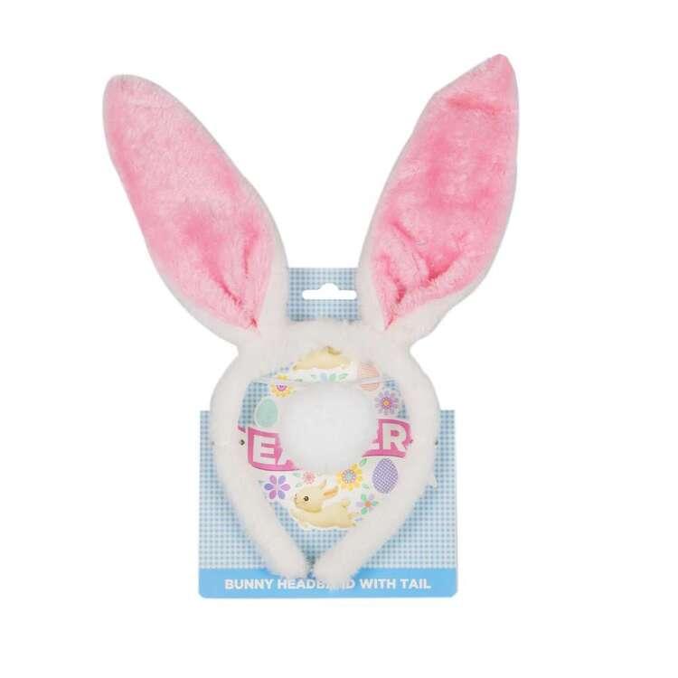 Bunny Headband With Tail