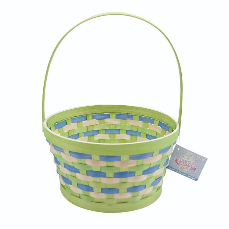 Easter Bamboo Basket