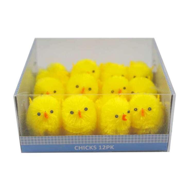 Mini Easter Chicks 12 Pack