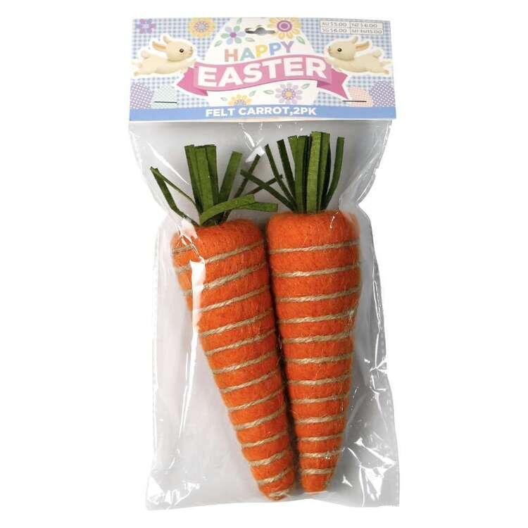 Felt Carrots 2 Pack