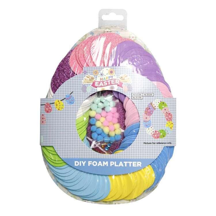 Easter DIY Foam Platter