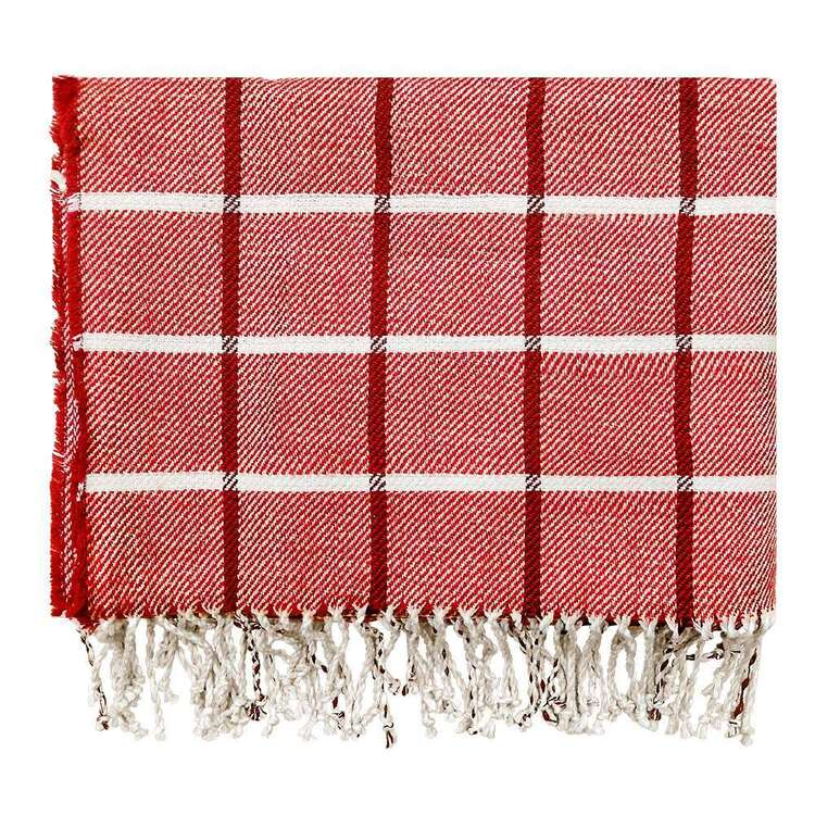 Ombre Home Country Living Check Throw