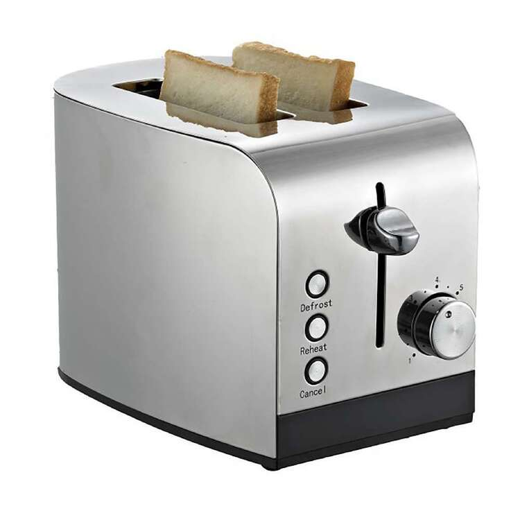 Singer 2 Slice Stainless Steel Toaster