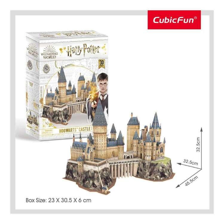 Cubic Fun Harry Potter Castle 197 Pieces 3D Puzzle Set