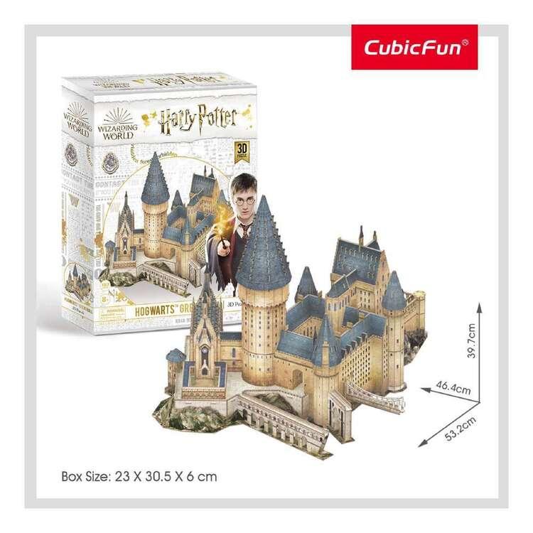 Cubic Fun Hogwarts Great Hall 187 Pieces 3D Puzzle Set