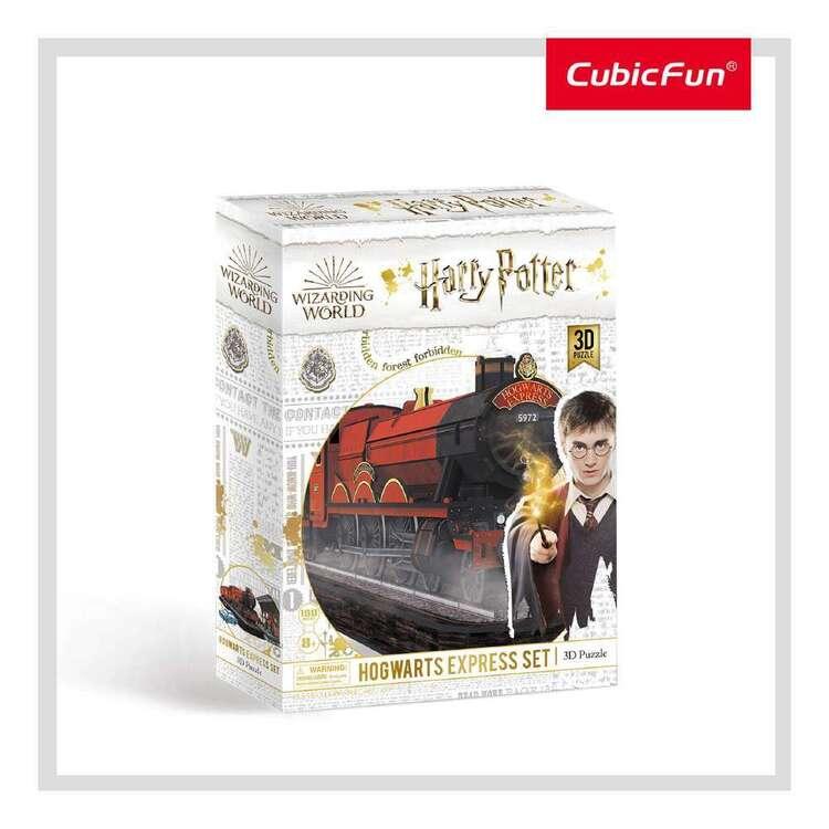 Cubic Fun Hogwarts Express Set 181 Pieces 3D Puzzle Set