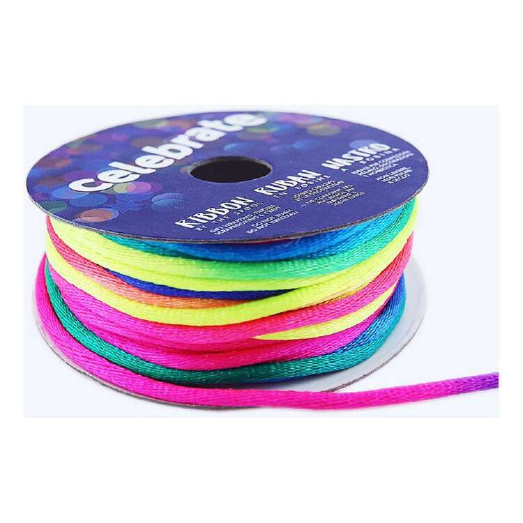 Celebrate Knot Cord Rainbow 2 mm x 5 m