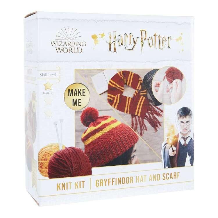 Harry Potter Gryffindor Hat & Scarf Knit Kit