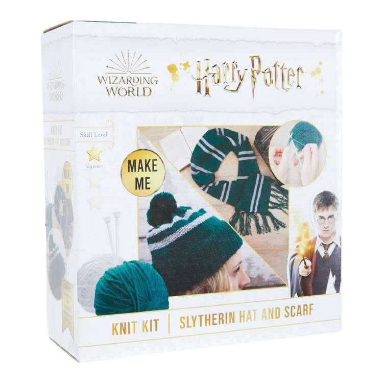 Harry Potter Slytherin Hat & Scarf Knit Kit