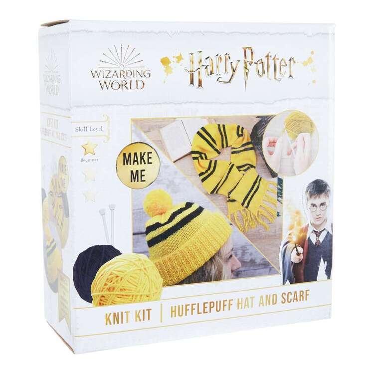 Harry Potter Hufflepuff Scarf & Hat Knit Kit