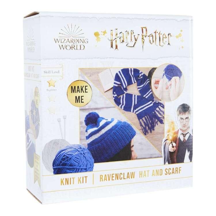 Harry Potter Ravenclaw Scarf & Hat Knit Kit
