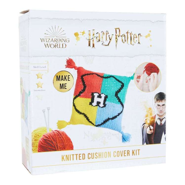 Harry Potter House Knitted Cushion Cover Knit Kit