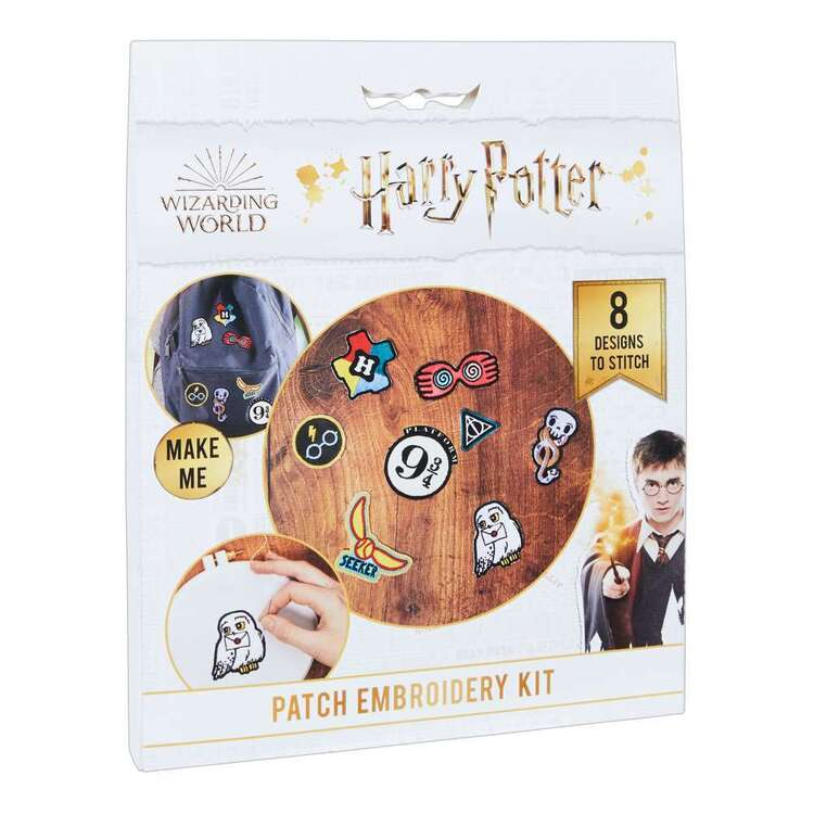 Harry Potter Patch Embroidery Kit