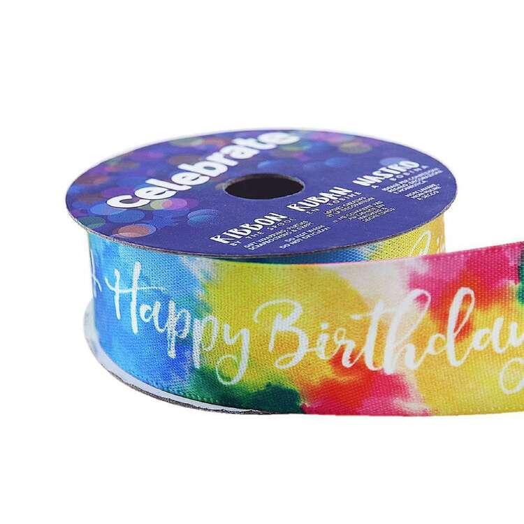 Celebrate Birthday Satin Ribbon