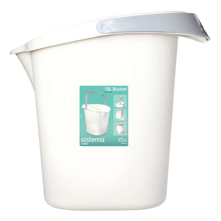 Sistema 10 L Home Bucket White 10 L