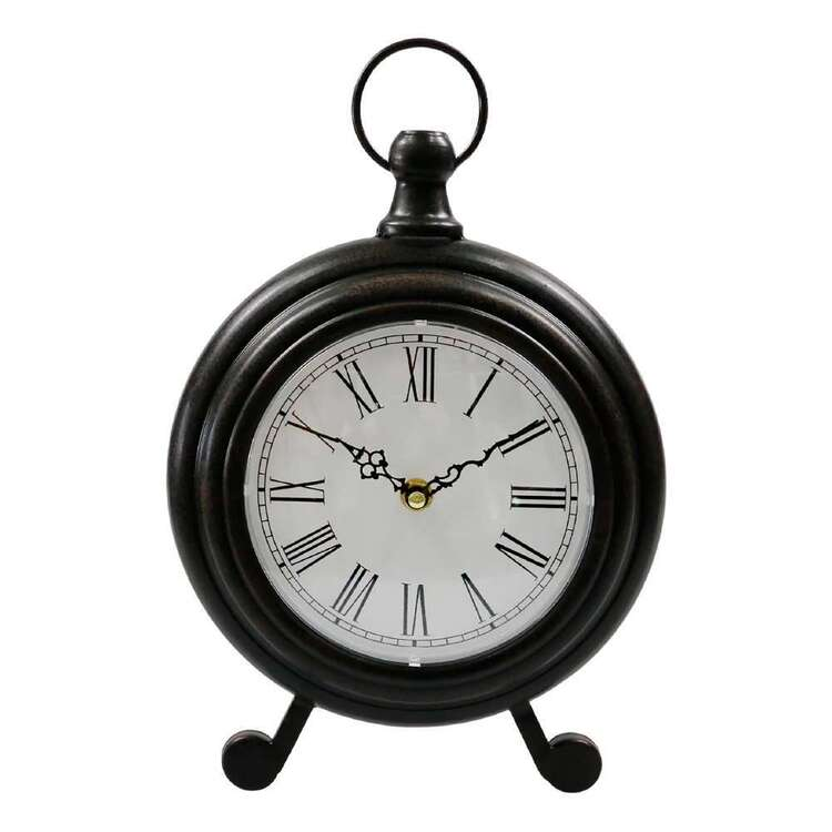 Living Space Vintage Table Clock