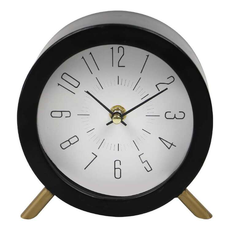 Living Space 15.5 cm Table Clock With Legs