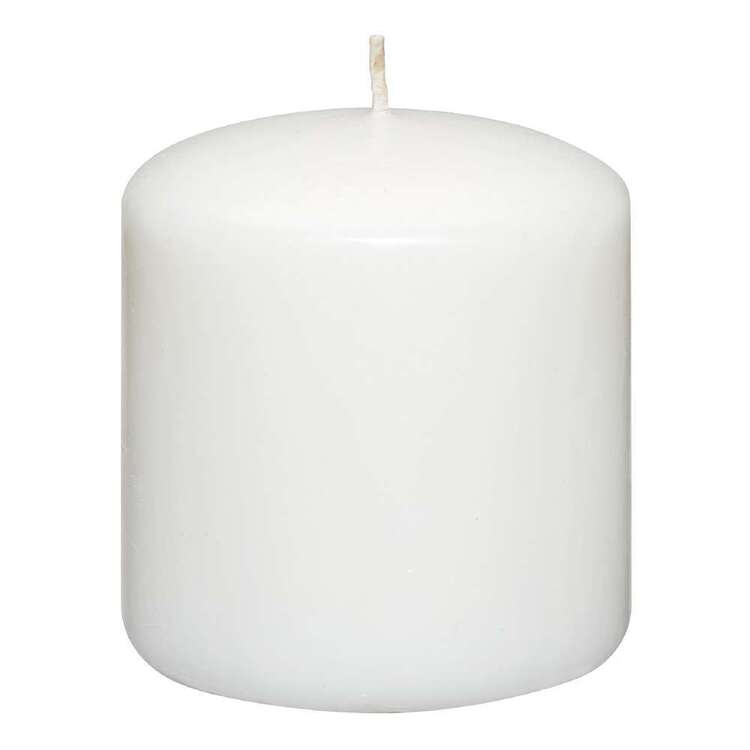 Bouclair Contemporary Organic Pillar Candle 7.5 cm