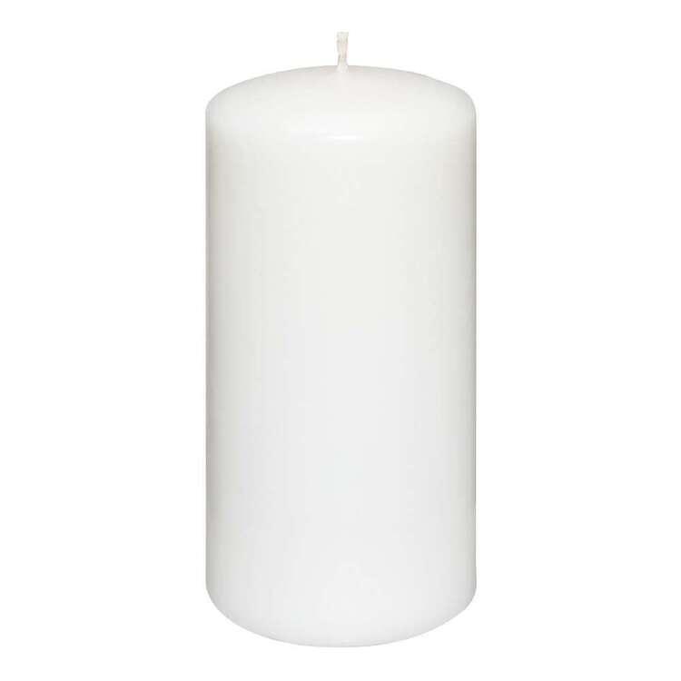Bouclair Contemporary Organic Pillar Candle 15 cm